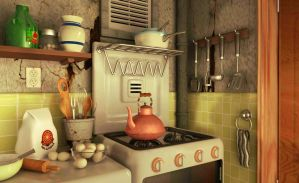 Kitchen by ALBITAR