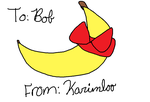 Banana for Bob by BatterCoveredBakery