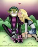For Beastboy and Terra Fans by MoostarGazer