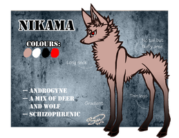 Reference Sheet :: NIKAMA by Routani