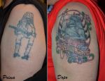 Coverup sailing ship by Jennink