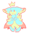 Macaron Royalty Mega Audino (ANIMATED) by avroillusion