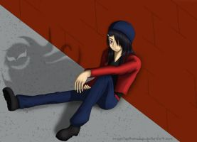 Sitting around by quikshadow