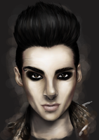 Bill Kaulitz Von Tokio Hotel by AlexUnderwood