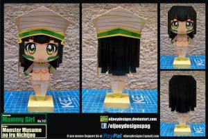 112 Mummy girl completed model by ELJOEYDESIGNS