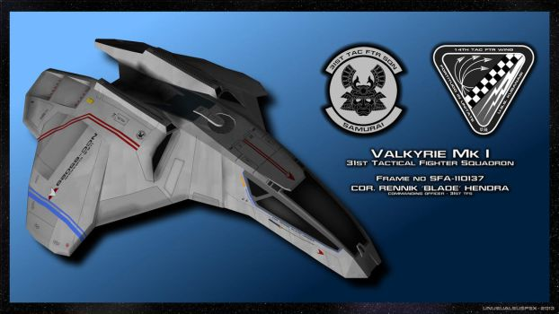 Valkyrie 31TFS by unusualsuspex
