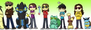 Poke Team Awesome by pettyartist