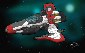 Maximal Starfighter (Colored) by TVJunkie2342