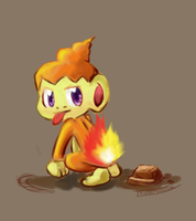 Chimchar by PencilTips