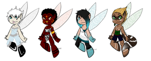 Paypal Fairy Adopts [OPEN] by KingRefi