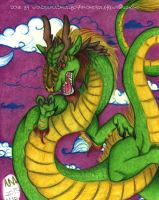 Chinese Dragon by Wonderfulskullboy