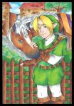 Link and Epona by DynamicFlamez