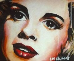 Judy Garland ACEO by sullen-skrewt