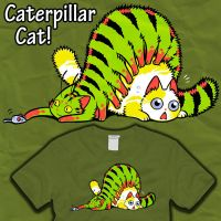 Caterpillar Cat by amegoddess