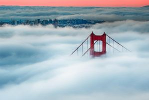 San Francisco, greeting the city II by alierturk