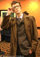 10th Doctor Cosplay by michaelaforbus