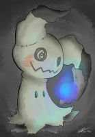 Mimikyu Creepy and Cuddly by GdGreat