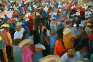 Crowd by The-Mirrorball-Man