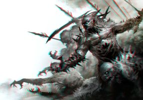 Demon Monsters 3-D conversion by MVRamsey