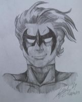 Nightwing by m00nstonee