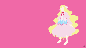 Mavis Vermillion (Fairy Tail) Minimalist Wallpaper by greenmapple17