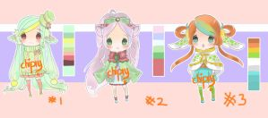 #3 Adopt Polka Series [Flatten Price][CLOSED] by Chipiy
