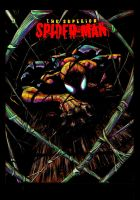COLOR:Superior Spider Man Inks By Ryanstegman by Tadpole7