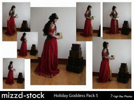 Holiday Goddess Pack 5 by mizzd-stock