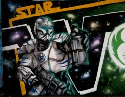 Star wars graffity by ksrp2v