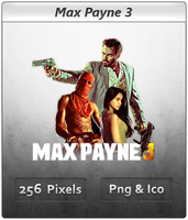 Max Payne 3 - Icon 3 by Crussong