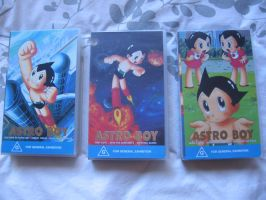 Astro Boy VHS by whitestarflower
