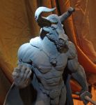 Minotaur Lord IV by BronzeRealm