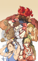 Street Fighter II by LS-Design