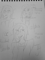 XME- Alpha Sketches by a-little-odd