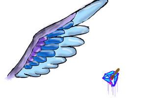 Cool wing by diamondpaintbrush