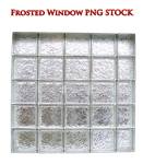 Frosted Window PNG STOCK by KarahRobinson-Art
