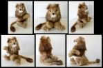 Recycled Mink Lion by SarityCreations