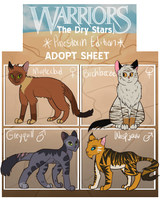 Pinestorm Friends + Family Tryout Sheet (3 Left!) by Silvaina