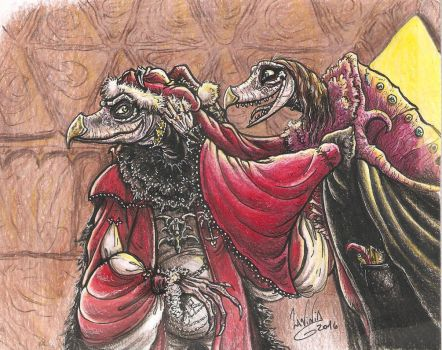 Merry Christmas from the skeksis by SkekLa
