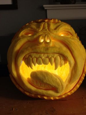Pumpkin Carving by KChampeny