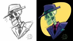 Dapper Skeleton Demo by jasonhohoho