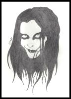 Dani Filth - Cradle Of Filth by Sarah-Vafidis