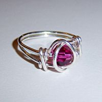 Deep magenta ring by Not-Broken