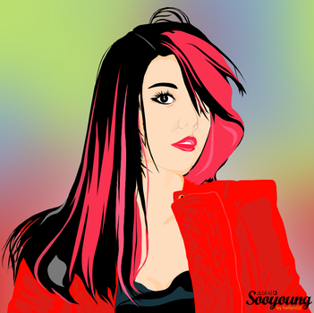 Choi Sooyoung (Girls Generation) Vector by whyXXII