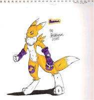 Renamon by kawaiimerle