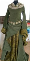 Eowyn Green Gown 1 by Lady--Eowyn
