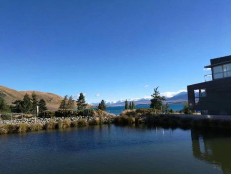 The blue sky(New Zealand) by victiger