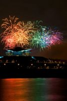 Fireworks by riowahaabphotography