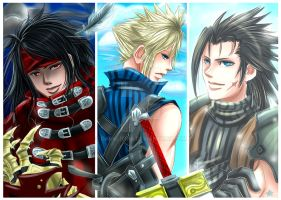 FF7: Heroes by DarkLitria