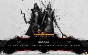 WAR Calendar - August 2008 by kriegs